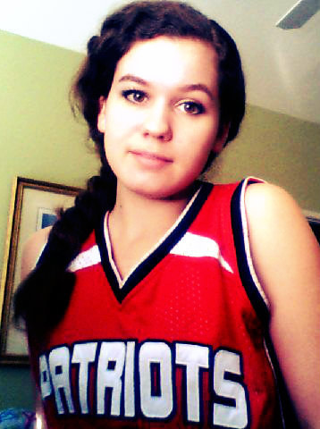 sarahchanx3:  Basketball game today. Wish me luck :)