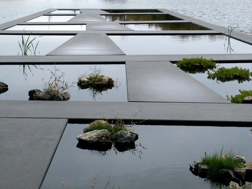 jewist:  Detail of Water Garden\ Bordeaux | Botanical Garden