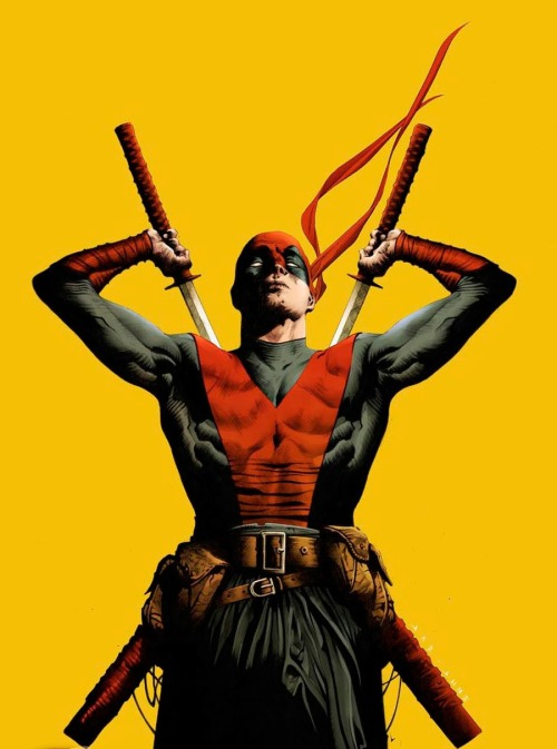 shadowfallsks:  Deadpool by Jae Lee http://shadowfallsks.tumblr.com/ (ComicArt)