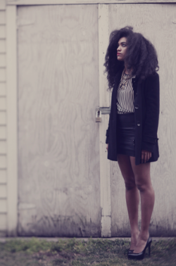 blackfashion:  lauren,nyc photog: alana