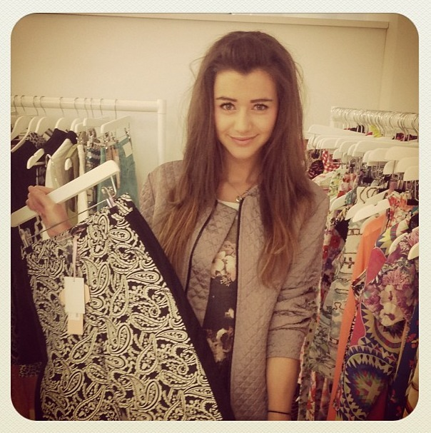 calderholic:  Boohoo: it was great seeing you this morning @eleanorj92! #boohoo #1D #love