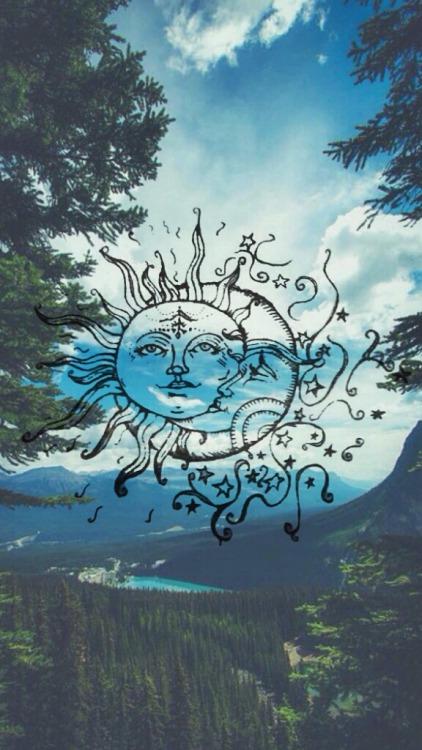 Sun and moon tumblr for Moon tattoo tumblr