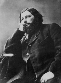 """Portrait Of Gustave Courbet"", c. 1870  By: FELIX NADAR…."