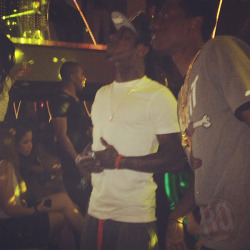 Lil Wayne and Boo at STORY Nightclub in Miami, Florida last night - http://www.lilwaynehq.com