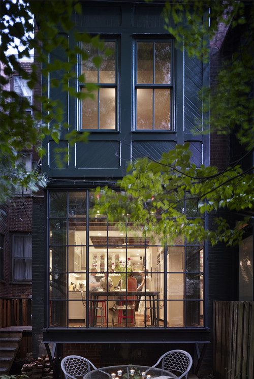 west philadelphia kitchen ~ rasmussen / su architects