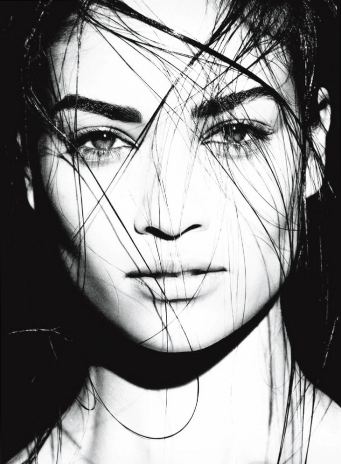 Shanina Shaik for Vogue Italia