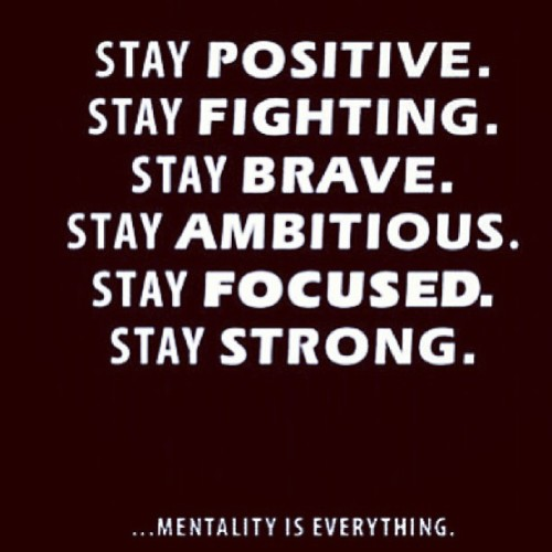 """Mindful Mondays!"" Stay positive, stay fighting, stay brave, stay ambitious, stay focused, stay strong! 💙 #jdluxe #motivationalquotes #quotes"