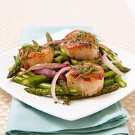 Pan-Seared Scallops  http://bit.ly/Wb8QMK