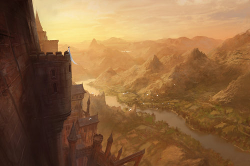 awesomedigitalart:  La premiere inquisitrice by *MarcSimonetti