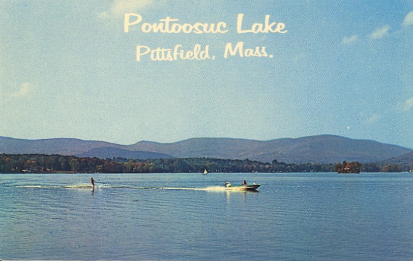 PONTOOSUC LAKE, PITTSFIELD, MASSACHUSETTS  Pontoosuc Lake, near Pittsfield, Mass., is a recreation area for natives and tourists alike. It appeals to the lover of fishing, boating and swimming.