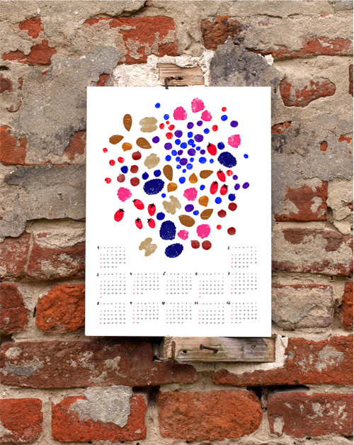 2013 Anek Calendar - Forest Fruits & Nuts
