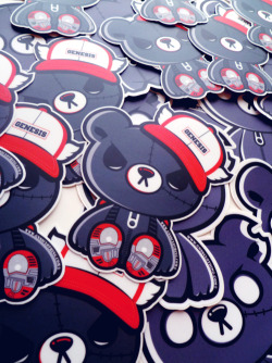 gnssclothing:  Zipper stickers | Genesis Clothing Store Support us by liking our fan page!