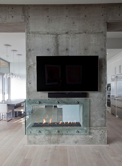 burnaby rez | fireplace ~ tanya schoenroth design via: japanesetrash