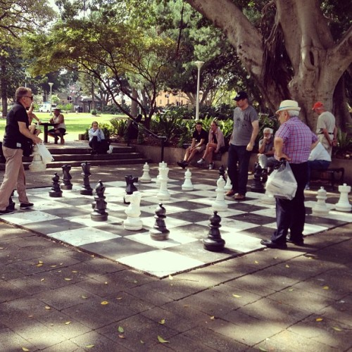 Hide Park - 2013 #xadrez #chess (em Hyde Park Chess Set)