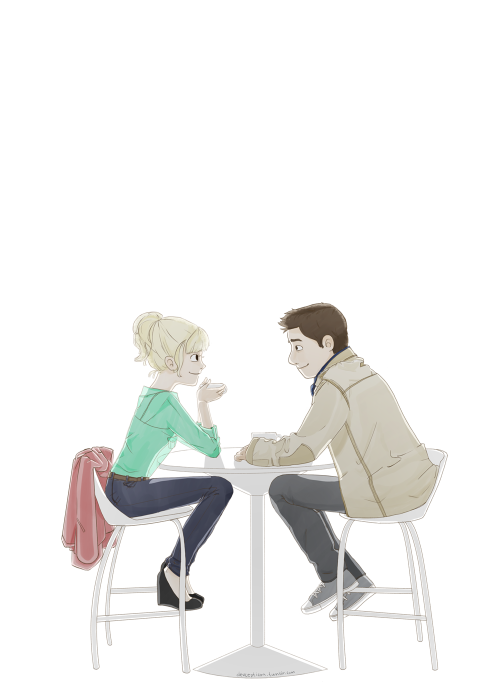 eatsleepdraw:  Coffee date.