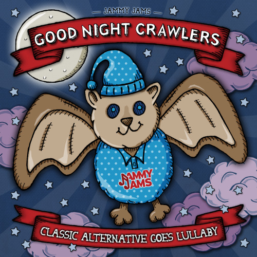 GOOD NIGHT CRAWLERS: Classic Alternative Goes Lullaby Buy/Stream Album: http://tinyurl.com/8h92sqb iTunes: http://tinyurl.com/9mc8gld http://www.jammyjams.net track listing: 1. Lullaby (originally by The Cure) 2. Love Will Tear Us Apart (originally by Joy Division) 3. Kiss Them For Me (originally by Siouxsie and the Banshees) 4. Send Me An Angel (originally by Real Life) 5. Something I Can Never Have (originally by Nine Inch Nails) 6. Enjoy The Silence (originally by Depeche Mode) 7. Lips Like Sugar (originally by Echo & The Bunnymen) 8. Love My Way (originally by Psychedelic Furs) 9. Ceremony (originally by New Order) 10. How Soon Is Now? (originally by The Smiths)