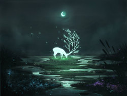 ghosttear:  Moon Essence by =Ninjatic