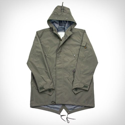 anchordivision:  ACE Hotel X Alpha Industries Waterproof Fishtail Parka  fuk perfect