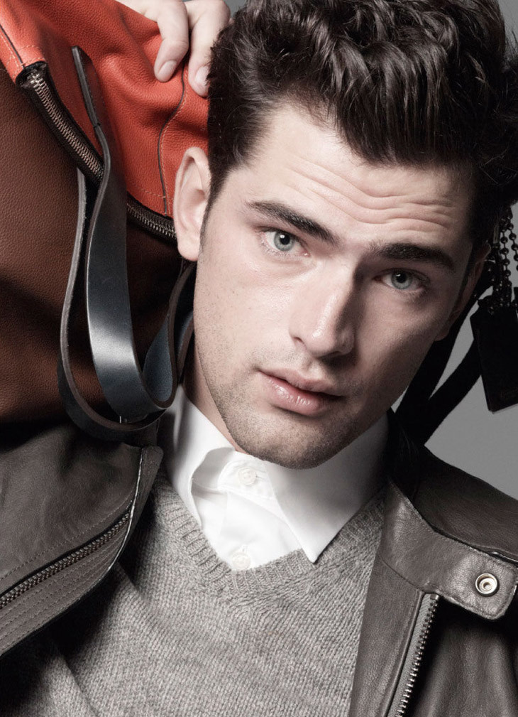 Sean O'Pry for Coach Spring-Summer 2013 Ad Campaign.