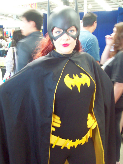 This is Kirsten, the Batgirl cosplayer that sent Gail into raptures.