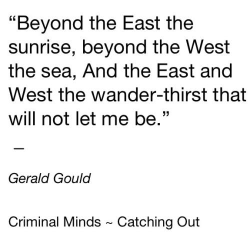 Criminal Minds Quote <3