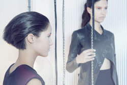 FUTUREmodels: Lorena and Morgan @ Nextwardrobe/styling: Kristine McFallfashion designer: Alice Lam mua: Annie Presley hair: Peter Felix & Josh Forrester photo: Jan Lim Naz Studiowww.janlim.com