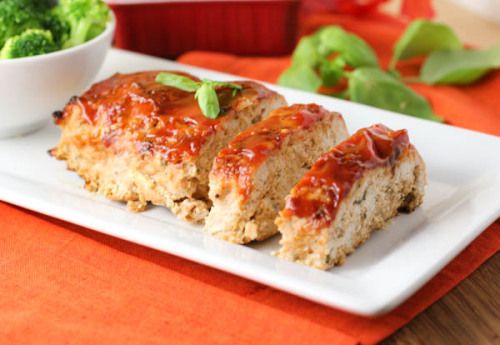 italian turkey meatloaf.