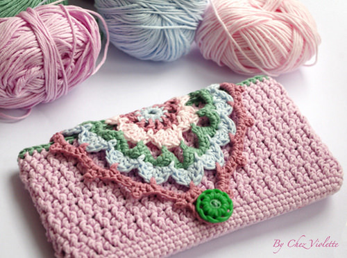 laredtecnologica:  CROCHET DIY Phone Case