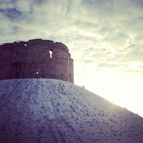 grafiklee:  Clifford's Tower, York
