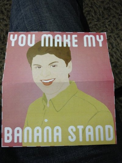 collegehumor:  Arrested Development Valentine's Day Hopefully he blue himself, too.