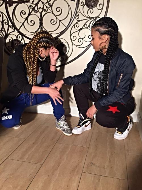 crystal westbrooks india westbrooks braids protective style jumbo braids sisters seats crop shirt hundredte