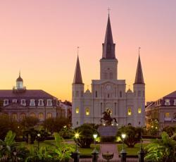 bellesandbeauxsandkanye:  St. Louis Cathedral, New Orleans