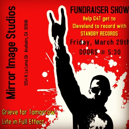 Fundraiser show!!!! Help Grieve for Tomorrow get to Ohio to record with Standby Records!  #fundraiser #money #show #music #awesome