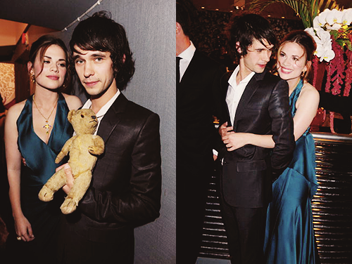 cartoon-heart:  favourite pictures of Ben Whishaw: 52-53/100 + Hayley Atwell