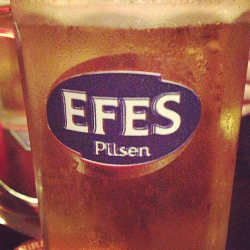 Liking the Turkish beer 😊 / on Instagram http://bit.ly/18RQ9k5