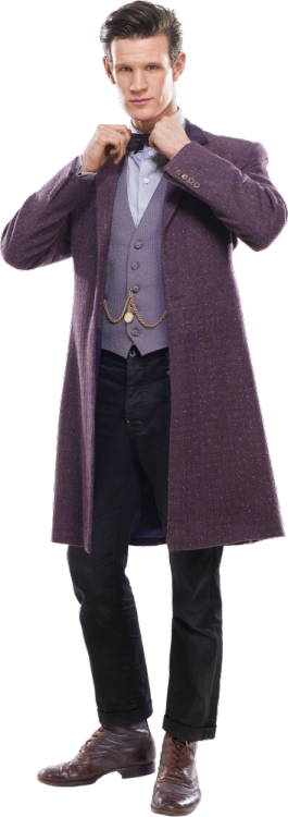 Transparent Eleventh Doctor for your dash.