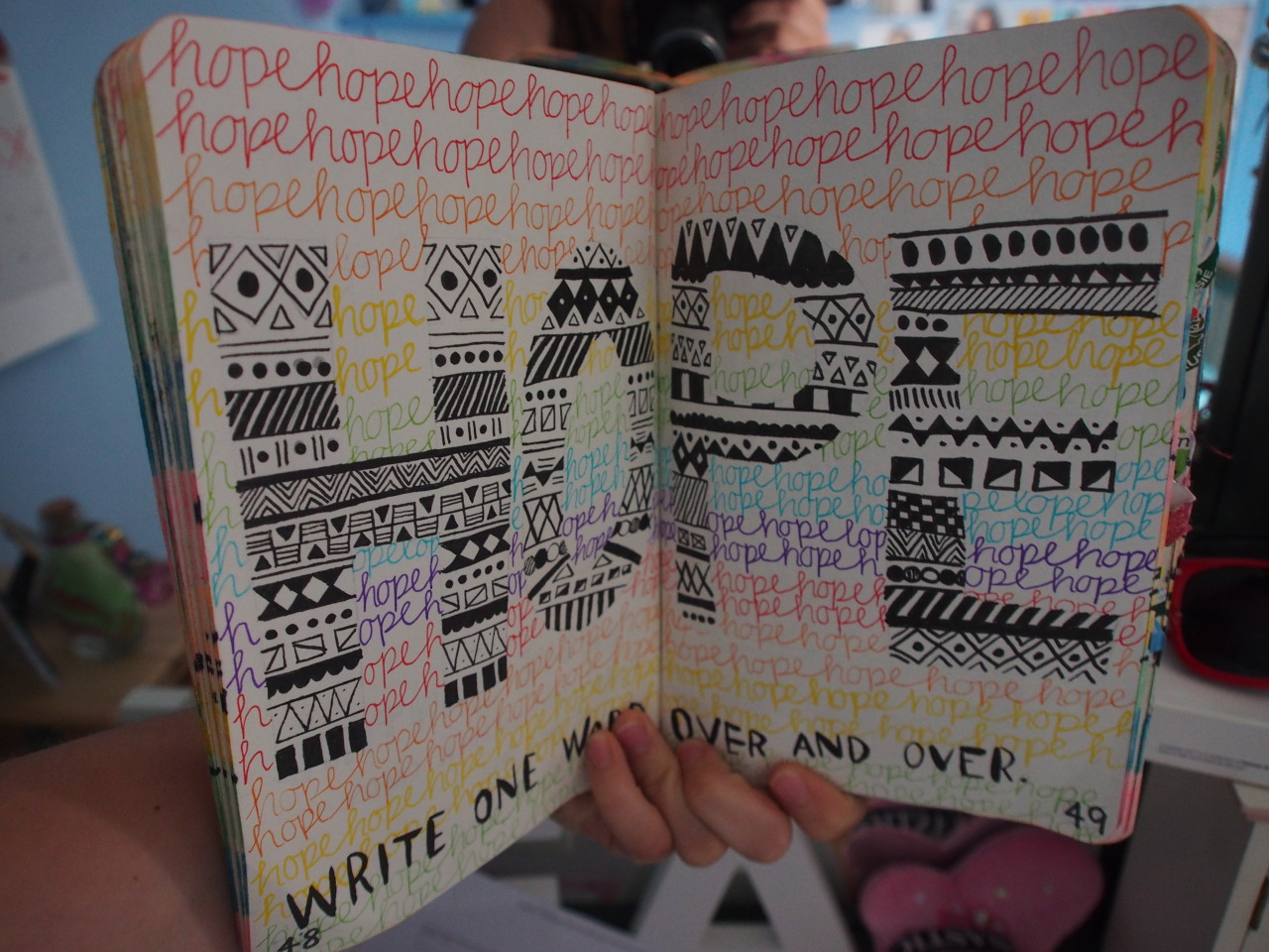 b3-y-o-u-tiful:  my wreck this journal c: