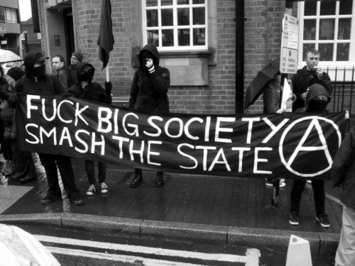 Fuck big society (A) smash the state