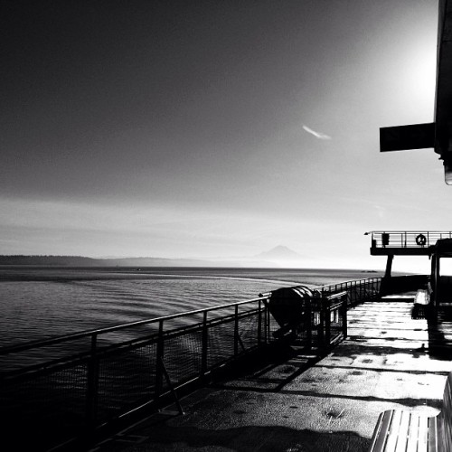 uutpoetry:  #seattle ferry