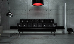 spoony:  QWERTY sofa by ZO_loft design