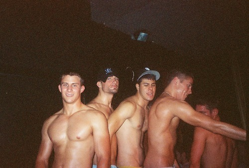 brentwalker092:  aplethoraofmen:  I'll take the guy on the far left biblogdude:  I want the one in the back with the ball cap. He looks like the great fuck   It looks like they all come as a group :)