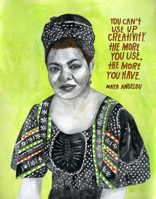 explore-blog:  Maya Angelou, reconstructionst.