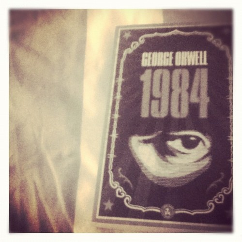 bring on the gruesome read. #georgeorwell #1984