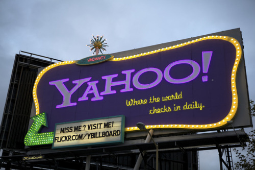 "via thisistheverge:  Yahoo reportedly eyeing Tumblr for possible $1 billion acquisition  Also, from the Wall Street Journal's All Things Digital:""According to sources close to the situation, that could mean a strategic alliance and investment in or outright buy of perhaps the coolest Internet company of late: Tumblr. Sources said the talks were serious, but any kind of deal — of course — could come to naught."" May 17, 2013 Update: ""All Things D"" reports Yahoo's board is meeting on May 19 to consider a $1.1 billion acquisition of Tumblr."