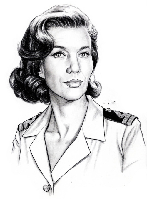 A classic MISS MONEYPENNY - Another great piece of art from Pat Carbajal for the upcoming James Bond Lexicon.