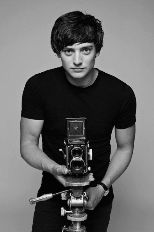 Aneurin Barnard as Photographer David Bailey.