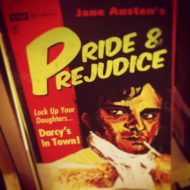 #prideandprejudice #coolcover #book #janeausten  (at Dymocks)