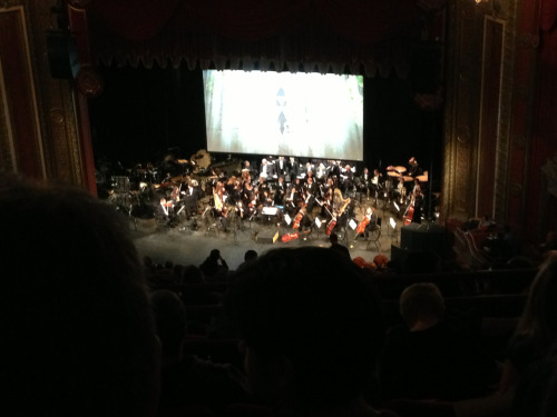 Yeah that's a Triforce on a screen above an orchestra because I'm in Milwaukee to see Zelda: Symphony of the Godesses with Josh and Sean and your argument is invalid.