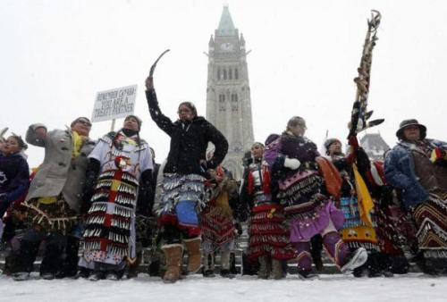 Idle No More Day of Action Sweeps Turtle Island and Beyond - ICTMN.com