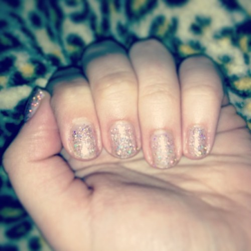 When in doubt? WEAR GLITTER #nails #nailpolish #girlythings #glitter